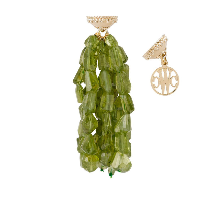 Nancy Peridot Tassel