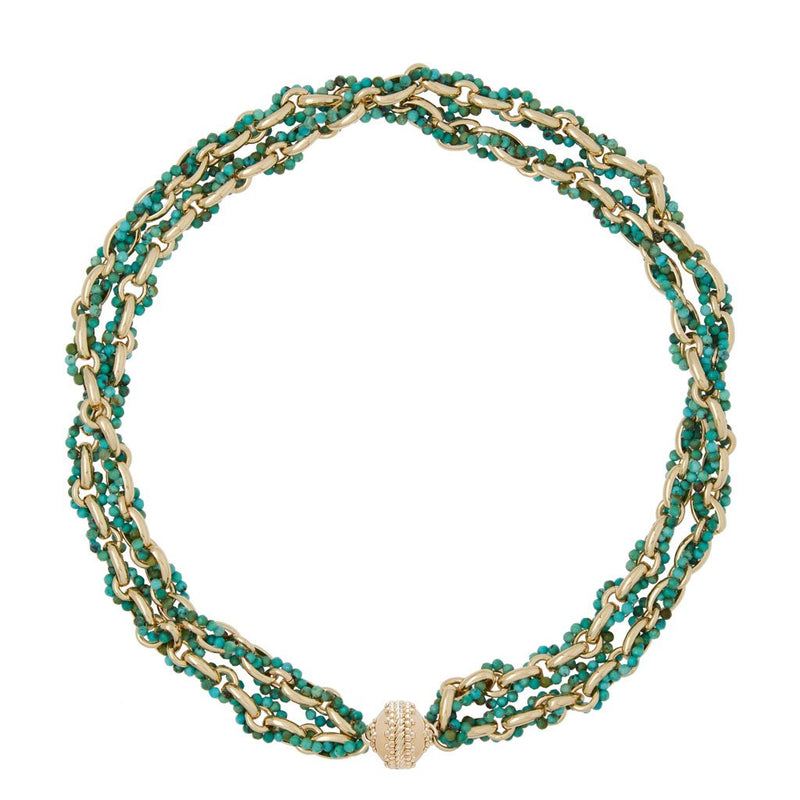 Quincy Chinese Turquoise Necklace