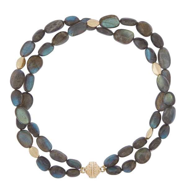 Gold Rush Labradorite Double-Strand Necklace