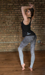 Ombre Gray Leggings