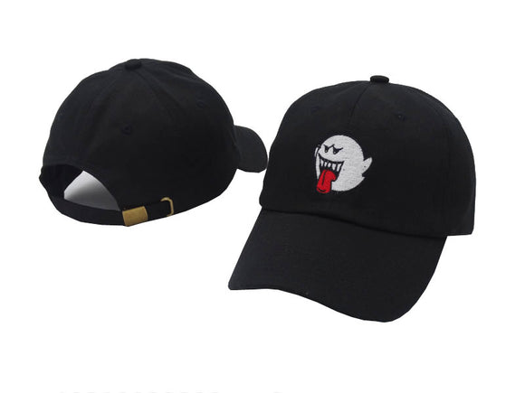 Distressed Boo Mario Ghost Dad Hat