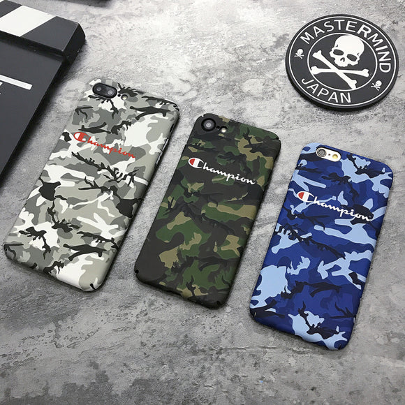Champion Luminous Camouflage phone Case