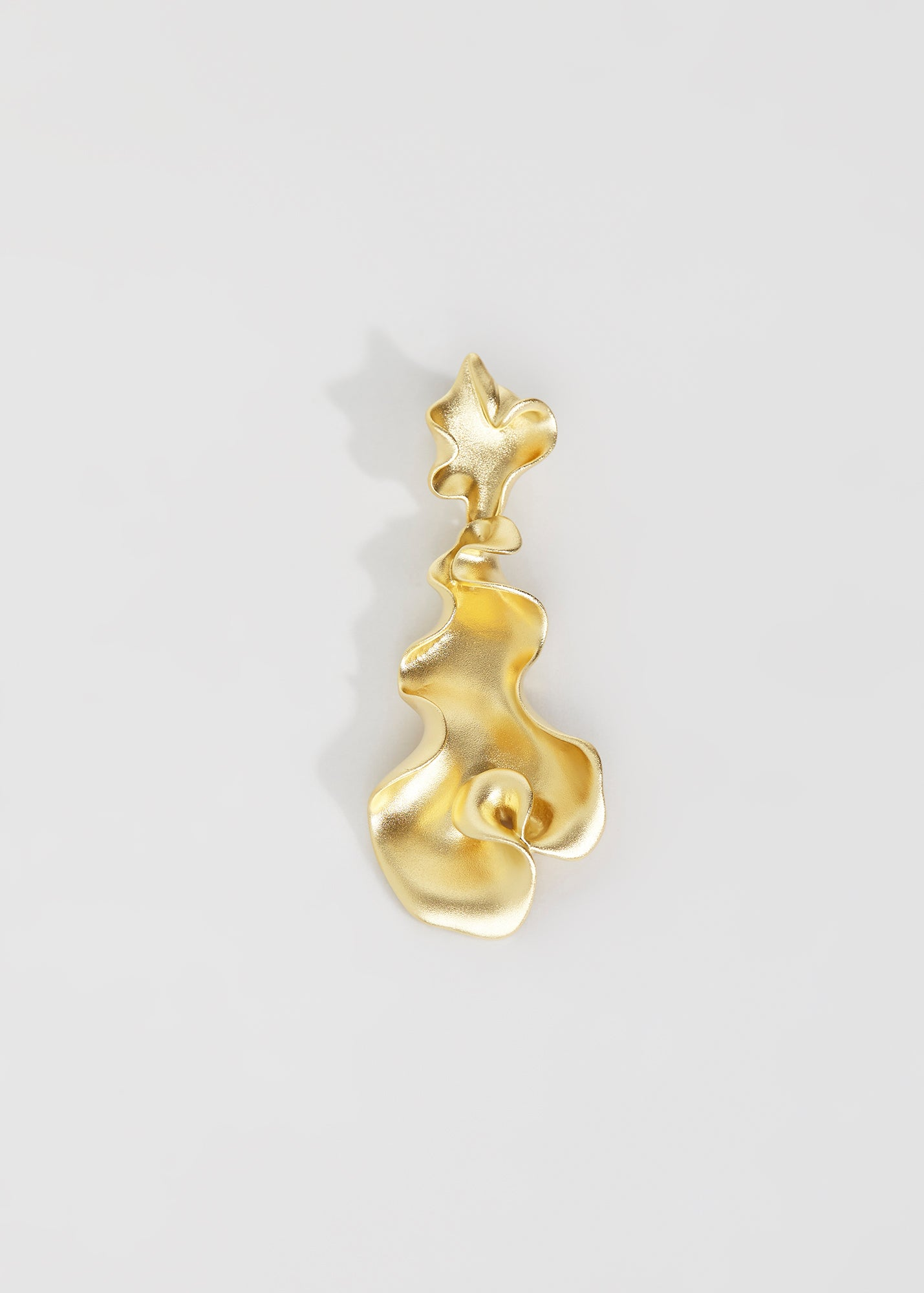 Susanne earring, gold plated