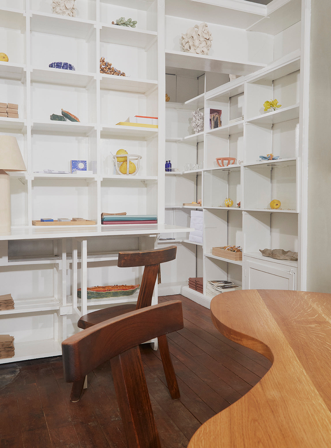 Flagship store bookcase