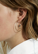 Load image into Gallery viewer, Spiral Earring IIII · Opal - Trine Tuxen Jewelry