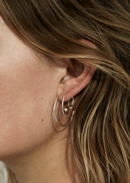 Spiral Earring III · Yellow Topaz - Trine Tuxen Jewelry