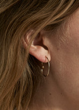 Load image into Gallery viewer, Spiral Earring III · Yellow Topaz - Trine Tuxen Jewelry