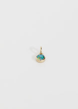 Load image into Gallery viewer, Green Opal Charm - Trine Tuxen Jewelry