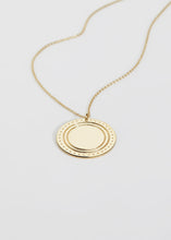 Load image into Gallery viewer, Large Logo Necklace - Trine Tuxen Jewelry