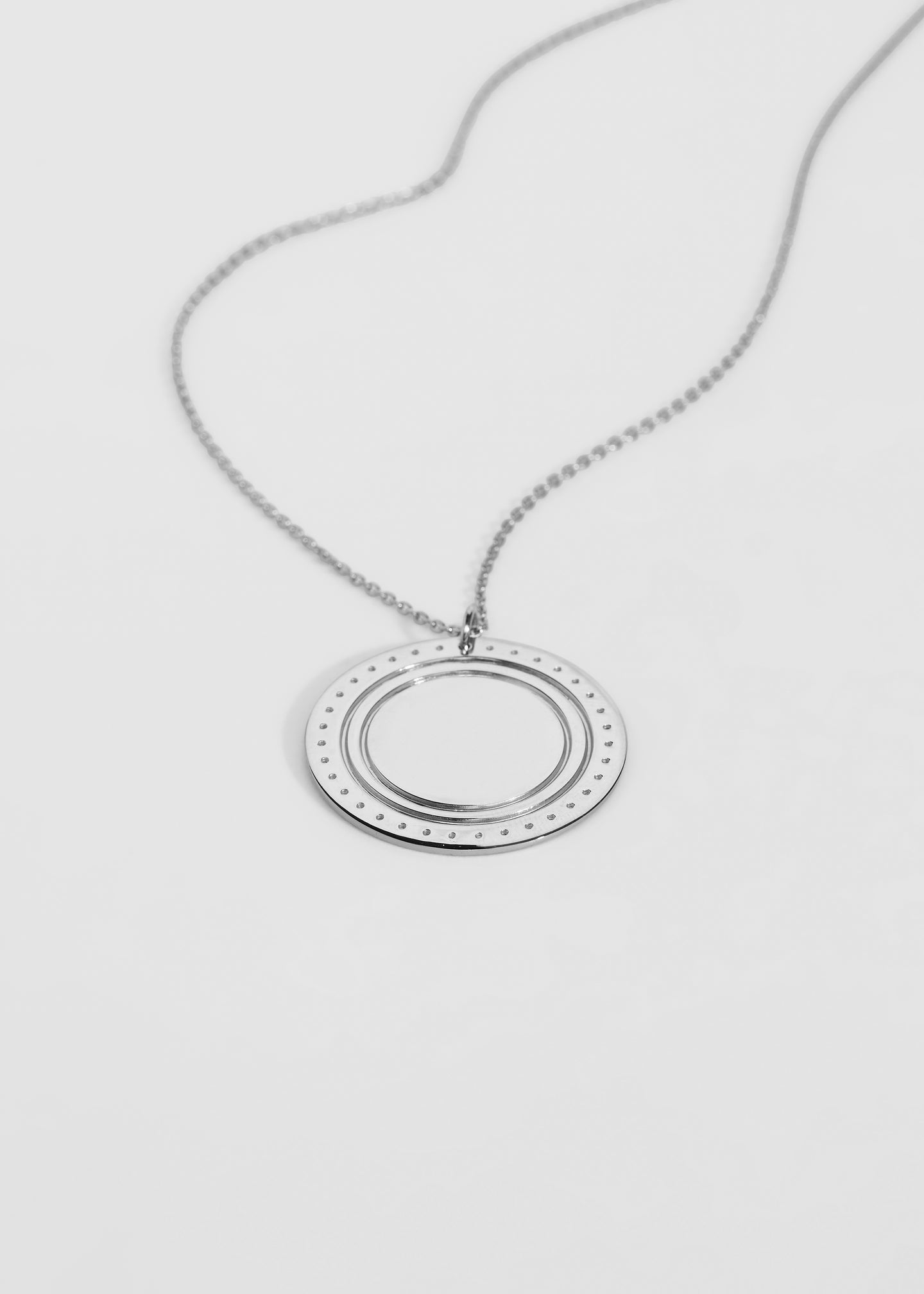 Large Logo Necklace - Trine Tuxen Jewelry