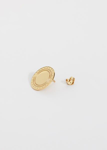 Logo Earring - Trine Tuxen Jewelry