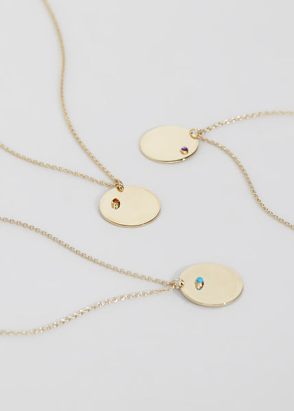 Birthstone Necklaces - Trine Tuxen Jewelry