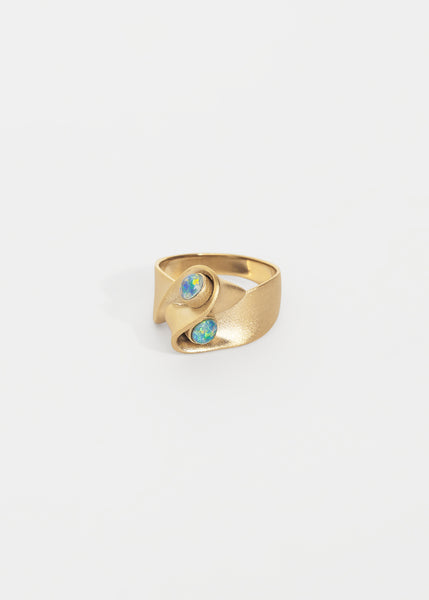 Ribbon Ring · Opals - Trine Tuxen Jewelry