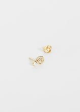 Load image into Gallery viewer, Snail Stud · Opal - Trine Tuxen Jewelry