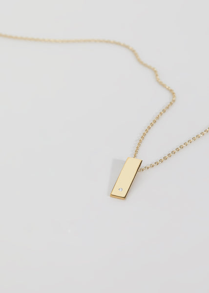 Step Diamond Necklace - Trine Tuxen Jewelry