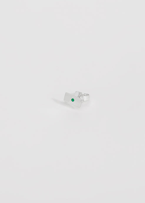 Stud Emerald - Trine Tuxen Jewelry