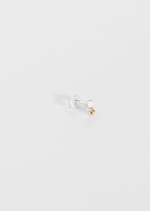 Stud · Opal · Yellow Topaz - Trine Tuxen Jewelry