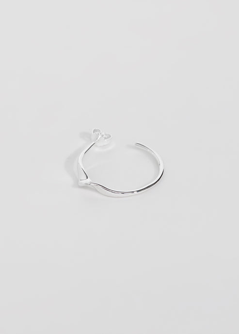 Wave Hoop II - Trine Tuxen Jewelry
