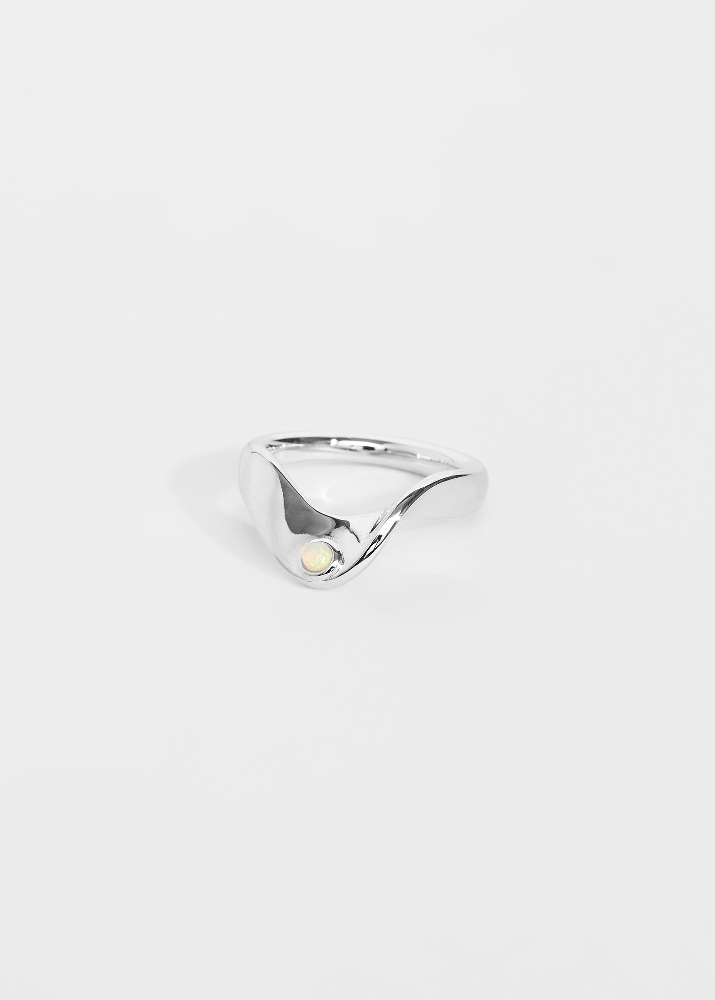 Wave Ring Opal - Trine Tuxen Jewelry