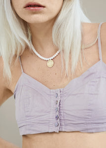 Logo Agate Necklace