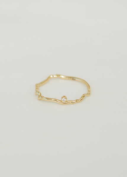 Bea Diamond Ring 14 K