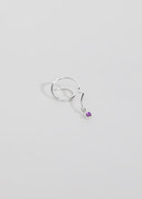 Load image into Gallery viewer, Bobby Spiral Earring · Amethyst - Trine Tuxen Jewelry