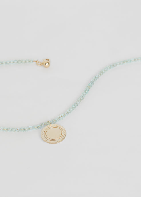 Logo Apatite Necklace