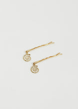 Load image into Gallery viewer, Snail Bobby Pin - Trine Tuxen Jewelry