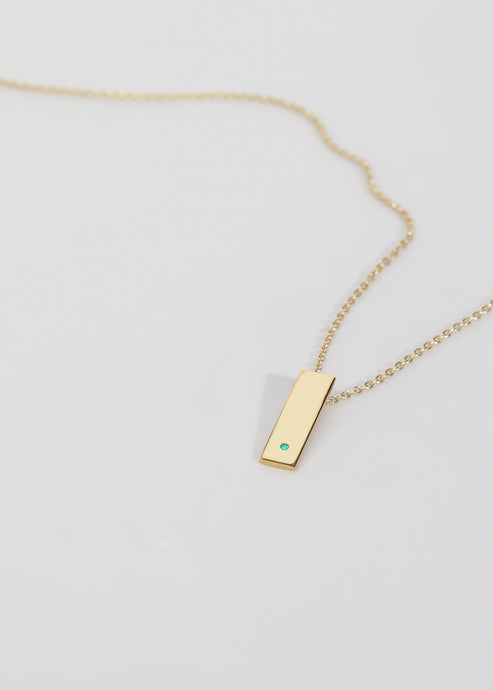 Step Emerald Necklace - Trine Tuxen Jewelry
