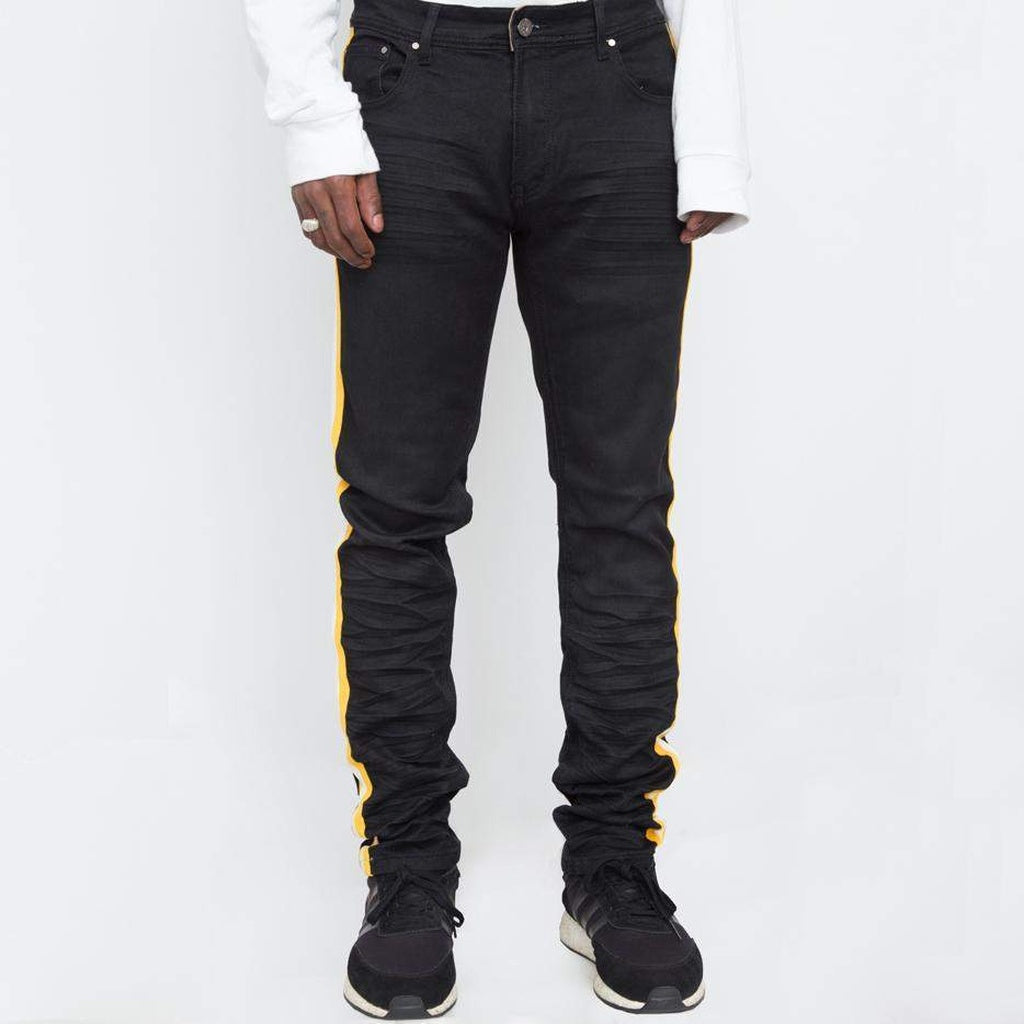 Men Bill Taped Denim