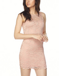 Penelope - Mauve Sleeveless Lace Bodycon Dress - Kimble's barter