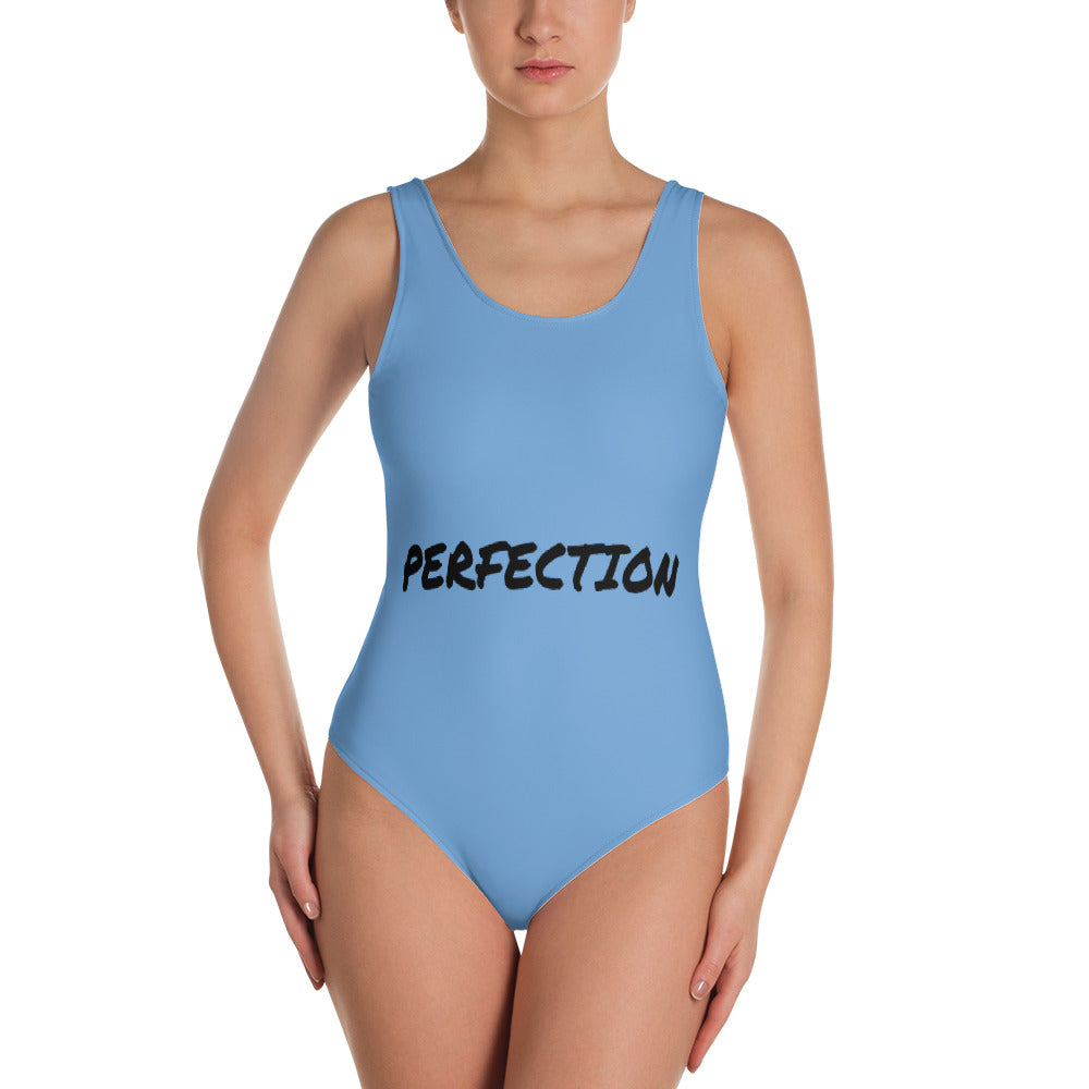 Women Blue Perfection One Piece Swimsuit