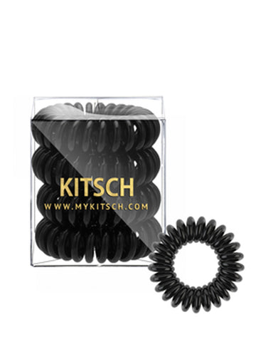 4 Pack Hair Coils - Black