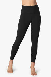 HW Solid Midi Legging - Black