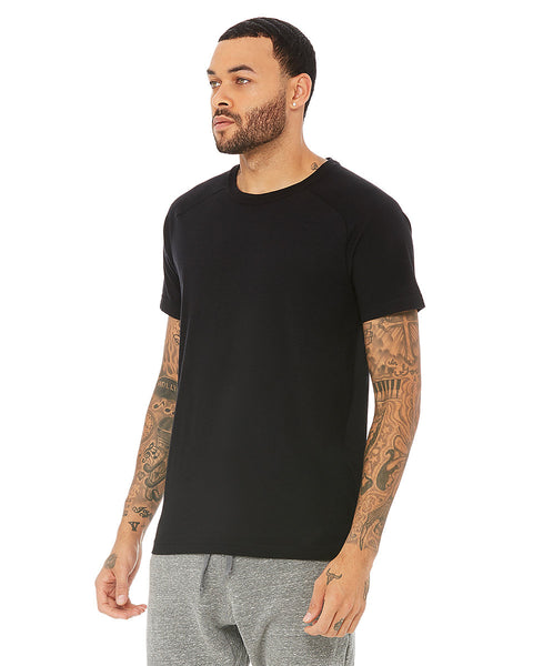 Triumph Crew Neck Tee - Black