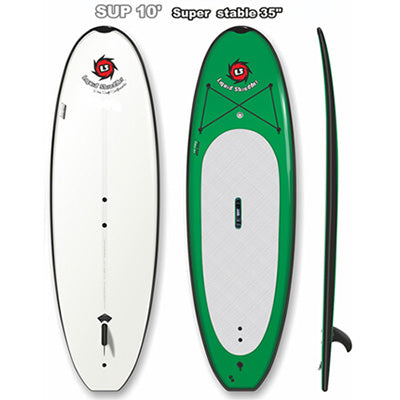 Liquid Shredder Peru Pro 10' Standard Yoga SUP - 8 Color Choices