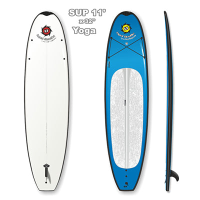 Liquid Shredder Peru Pro 11' Yoga SUP - 9 Color Choices