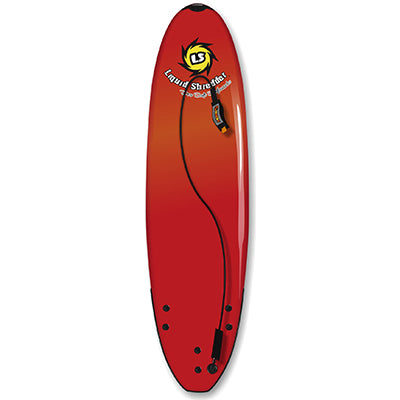 "Liquid Shredder 6' 9"" Element Soft Surfboard - 4 Color Choices"