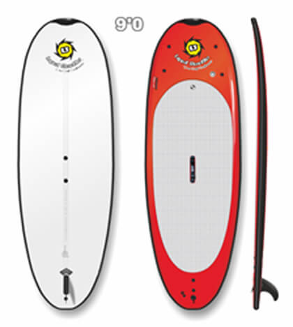 Liquid Shredder Peru Pro 9' Beamer Yoga  SUP - 8 Color Choices