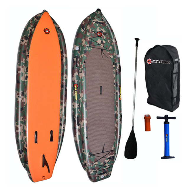 Liquid Shredder 11' Inflatable Outdoorsman SUP Package