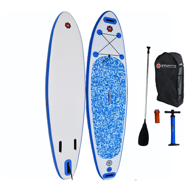 "Liquid Shredder 10' 6"" Inflatable Sandlapper SUP Package"