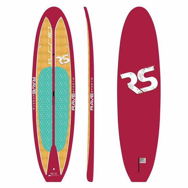 "Rave Sports 10' 9"" Plum Wine Shoreline SUP"