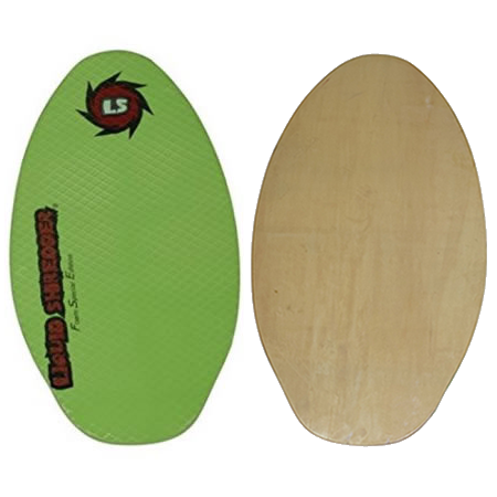"Liquid Shredder 35"" FSE Wood Skimboard - 2 Color Choices"