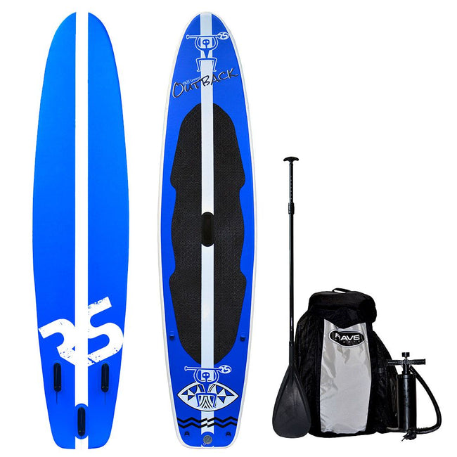 "Rave Sports 10' 8"" Outback Inflatable SUP Package"
