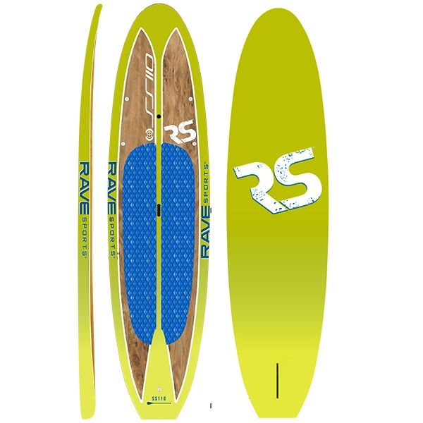 "Rave Sports 10' 9"" Key Lime Shoreline SUP"