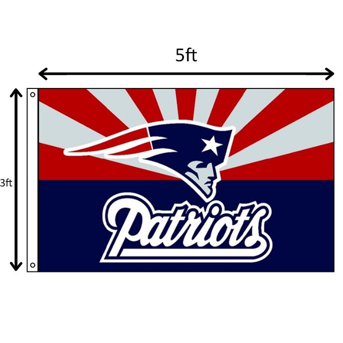 Red/White/Blue Patriots Flag