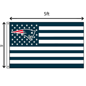 Light Blue Stars and Stripes Patriots Flag