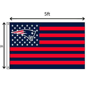 Red/Blue Stars and Stripes Patriots Flag
