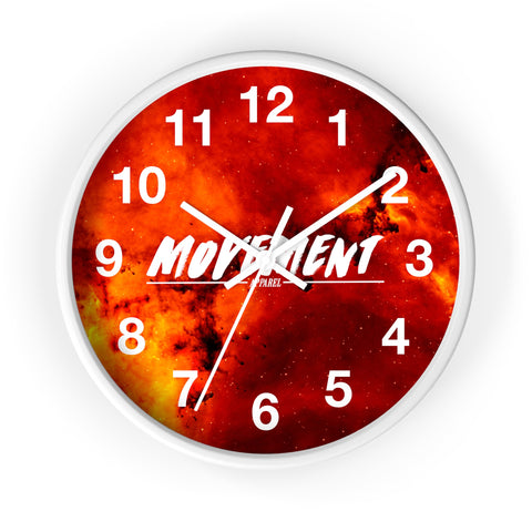 Movement Nebula Wall clock
