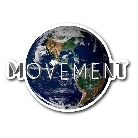 Movement World Sticker